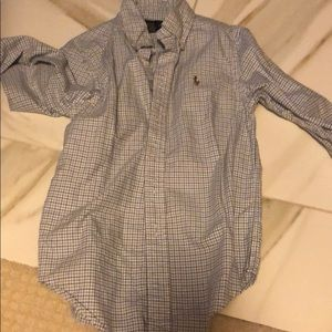 Ralph Lauren cotton plaid shirt